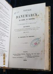 Voyage en Danemarck, en Suède, en Norvège, par la Belgique et la Hollande. Retour par les villes anséatiques, le Necklembourg, la Saxe, la Bavière, le Wurtemberg et le grand-duché de Bade, séjour à Bade, en 1854 / par M. Boucher de Perthes   Boucher de Perthes, Jacques (1788-1868). Auteur