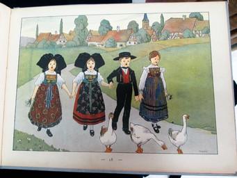 Mon village : Ceux qui n'oublient pas / images et commentaires par l'Oncle Hansi | Hansi (1873-1951). Auteur. Illustrateur