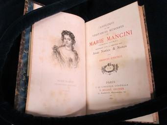 Apologie ou les véritables mémoires de Marie Mancini, princesse Colonna, réimprimés pour la premiére fois avec notice & notes par Georges d'Heylli | Mancini, Marie (1639-1715). Auteur
