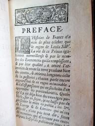 Histoire du règne de Louis XIV, surnommé le Grand, roi de France. Par M. Reboulet, docteur ès droits. Tome premier [-neuvieme] | Reboulet, Simon (1687-1752). Auteur