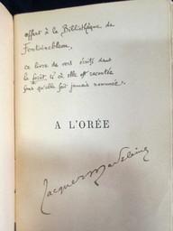 A l'orée : poésies / Jacques Madeleine | Madeleine, Jacques (1859-1941). Auteur