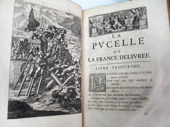 La Pucelle ou La France délivrée, poëme héroïque. Par M. Chapelain | Chapelain, Jean (1595-1674). Auteur
