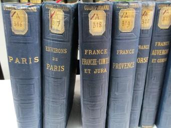 Itinéraire général de la France, par Paul Joanne. Environs de Paris. 8 cartes et 20 plans   Joanne, Adolphe (1813-1881). Auteur