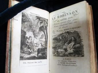 Le Robinson de douze ans, histoire curieuse d'un jeune mousse français abandonné dans une île déserte... par Madame Mallès de Beaulieu. Vème édition | Mallès de Beaulieu, Jeanne Sylvie (1760?-1825). Auteur