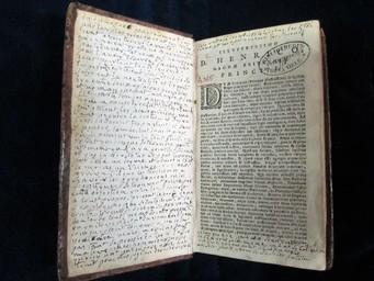 [ Q. Horatius Flacc[us]. Scholijs sive Notis illustratus a Joanne Bond] | Horace (0065-0008 av. J.-C.). Auteur