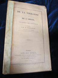 De la Vieillesse et de l'Amitié, traités de Cicéron, traduits par M. Plougoulm,... | Cicéron (0106-0043 av. J.-C.). Auteur