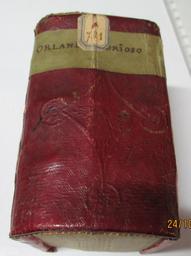 Orlando furioso di M. Lodovico Ariosto, diviso in due parti... insieme con l'aggiunta dei cinque canti nuovi | Arioste, L' (1474-1533). Auteur