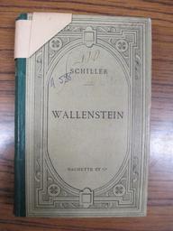 Wallenstein : poème dramatique en trois parties / Schiller | Schiller, Friedrich von (1759-1805). Auteur