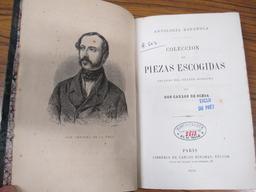Antologia española. Coleccion de piezas escogidas, sacadas del teatro moderno, por don Carlos de Ochoa |