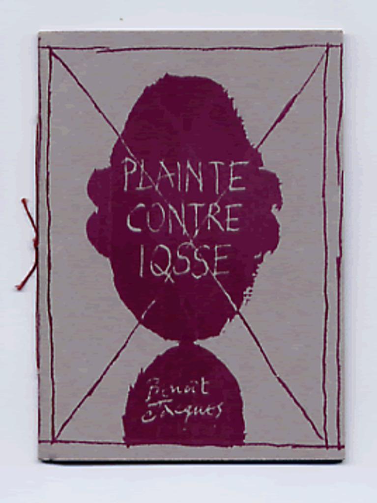 Plainte contre iqsse / Benoît Jacques |
