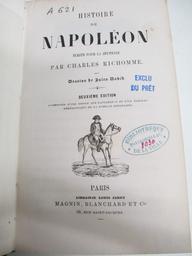 Histoire de Napoléon écrite pour la jeunesse, par Charles Richomme... 2e édition, augmentée d'une notice sur Napoléon II, et d'un tableau généalogique de la famille Bonaparte | Richomme, Charles (1816-1866). Auteur