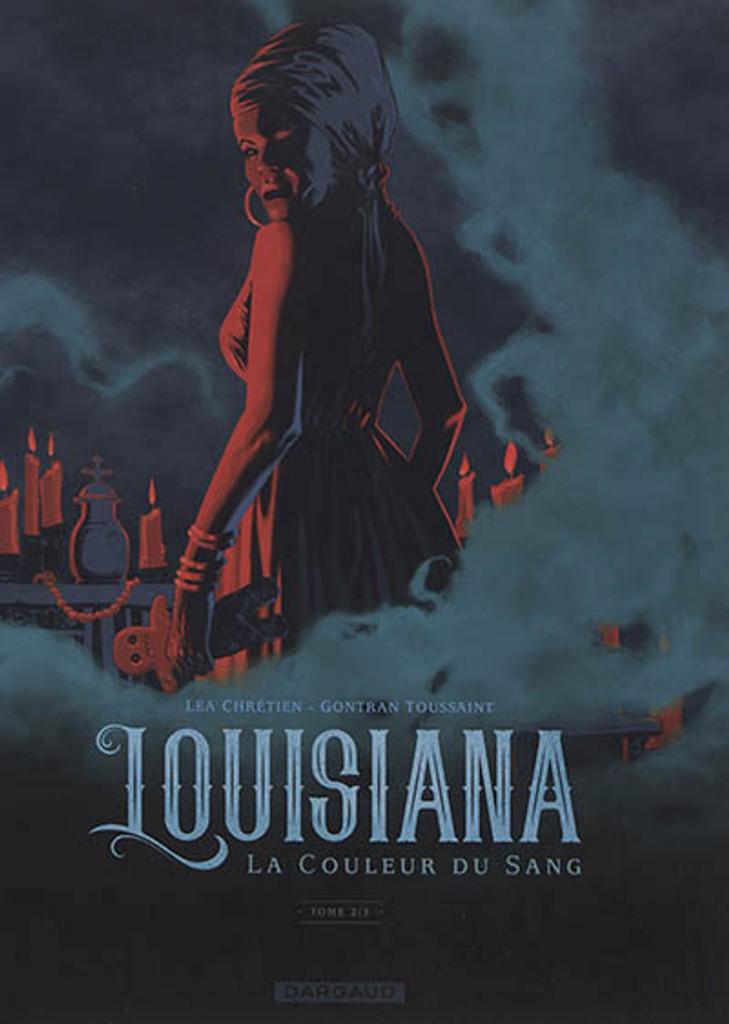Louisiana : la couleur du sang. Tome 2 / scénario et couleur, Léa Chrétien  
