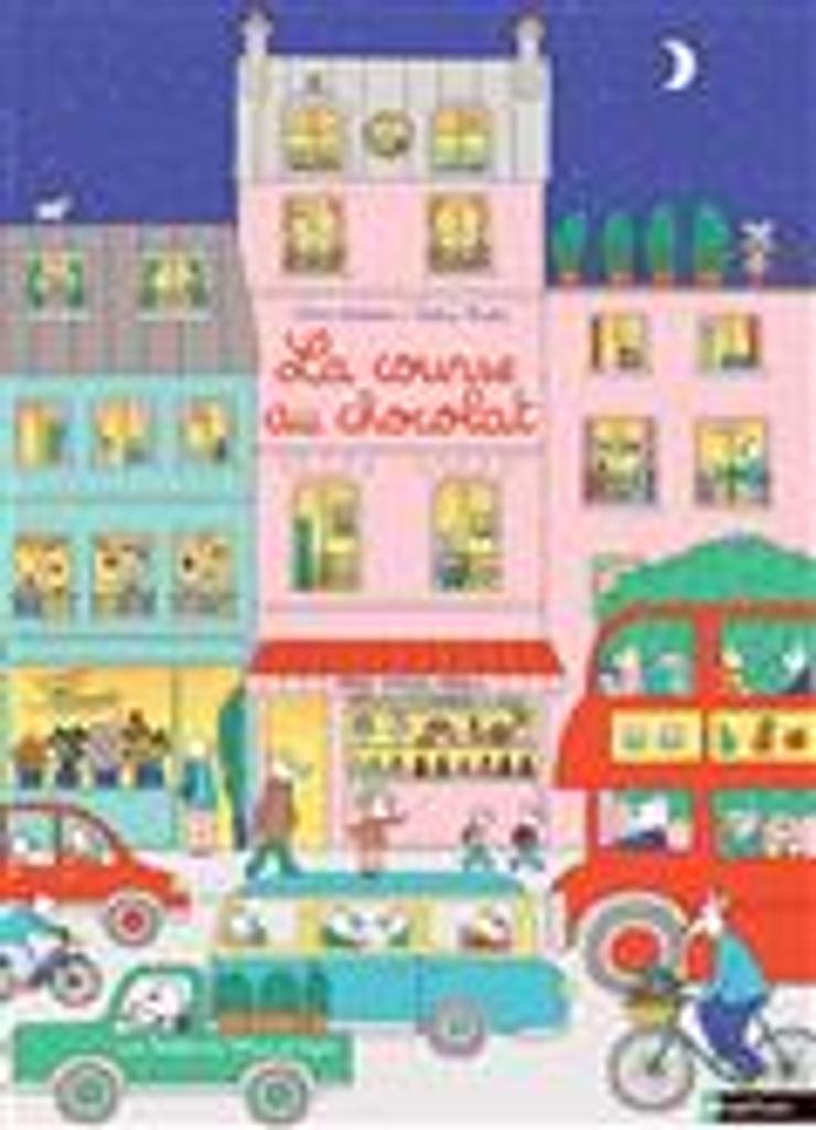 La course au chocolat : aide Max à retrouver Lapin dans les images ! / Astrid Desbordes, Pauline Martin |