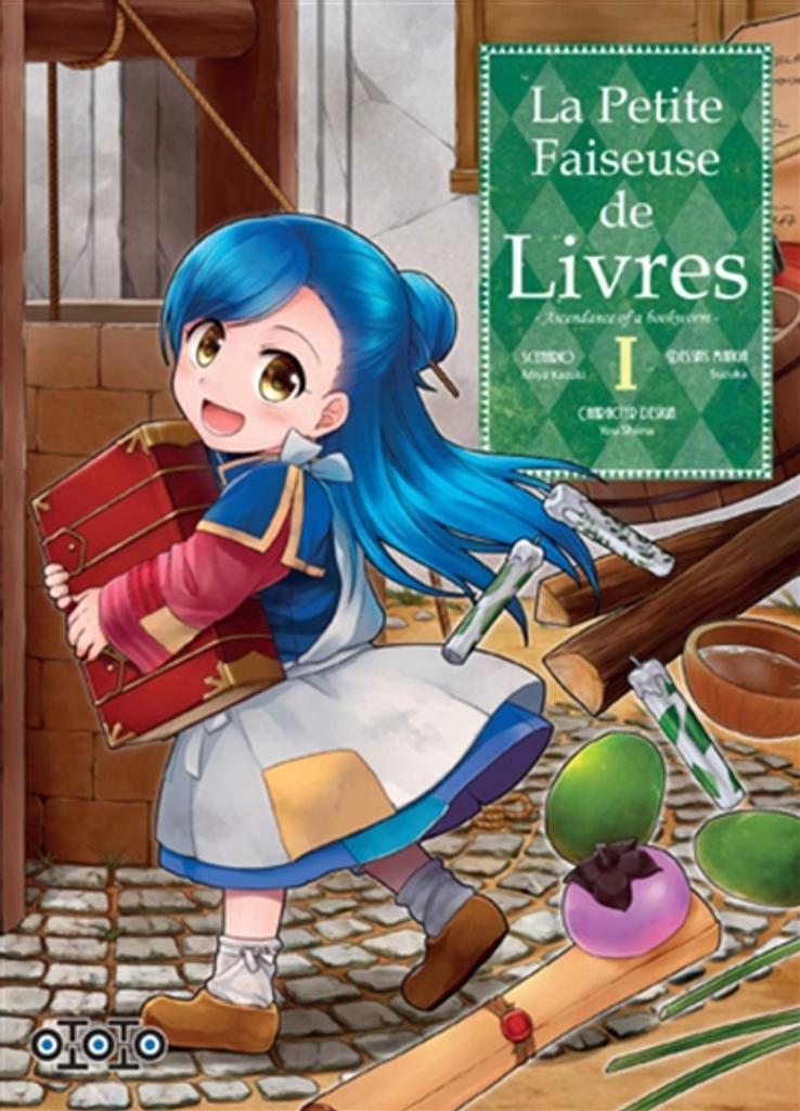 La petite faiseuse de livres : ascendance of a bookworm / scénario, Miya Kazuki  