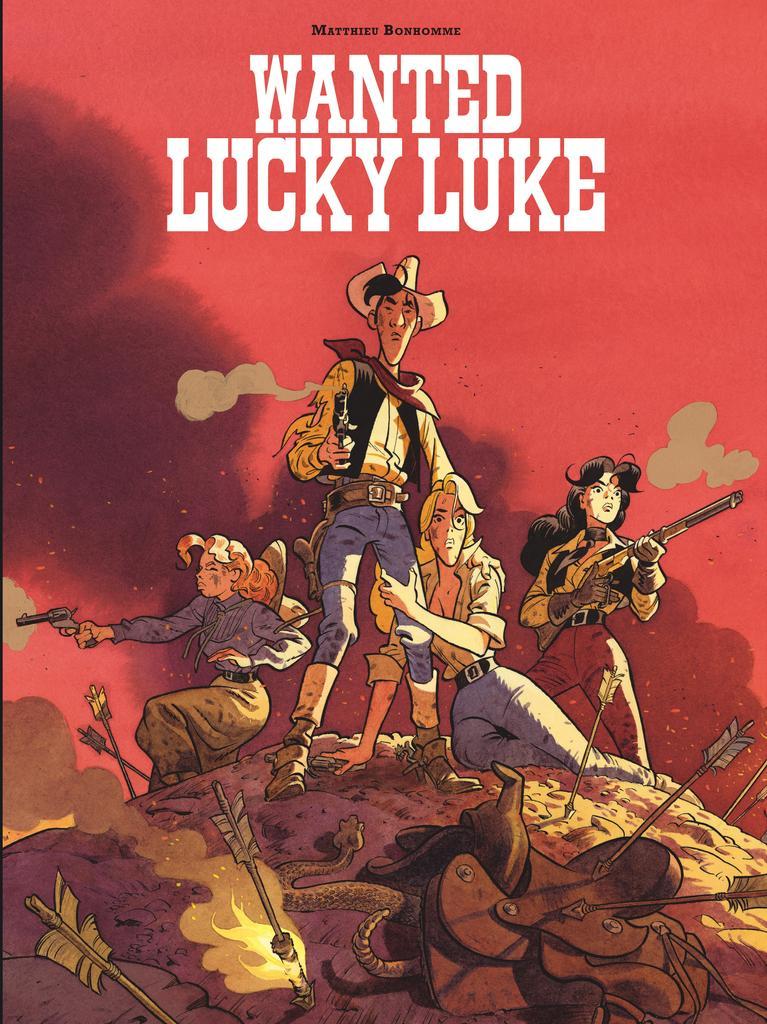 Wanted Lucky Luke / scénario, dessin et couleur, Matthieu Bonhomme  