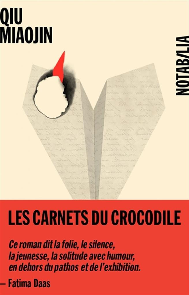 Les Carnets du crocodile / Qiu Miaojin |