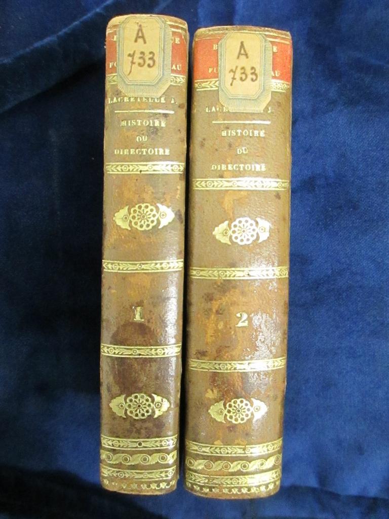 Précis historique de la Révolution française : Directoire exécutif / par Lacretelle jeune | Lacretelle, Charles de (1766-1855). Auteur