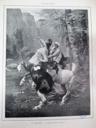 """Turpe senilis amor !"" : [estampe] / E. Bayard   Bayard, Antoine Emile (1837 - 1891). Artiste"