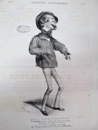 Dans la Chansonnette du Galopin Industriel : [estampe] / Benjamin    Roubaud, Benjamin. Artiste. Lithographe