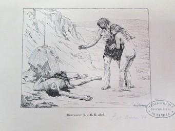 Abel : [estampe] / Lucien Berthault | Berthault, Claude Alexandre Lucien (1854 - 1921). Graveur