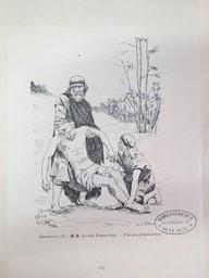 Le bon Samaritain : [estampe] = The good Samaritan. / Lucien Berthault | Berthault, Claude Alexandre Lucien (1854 - 1921). Graveur