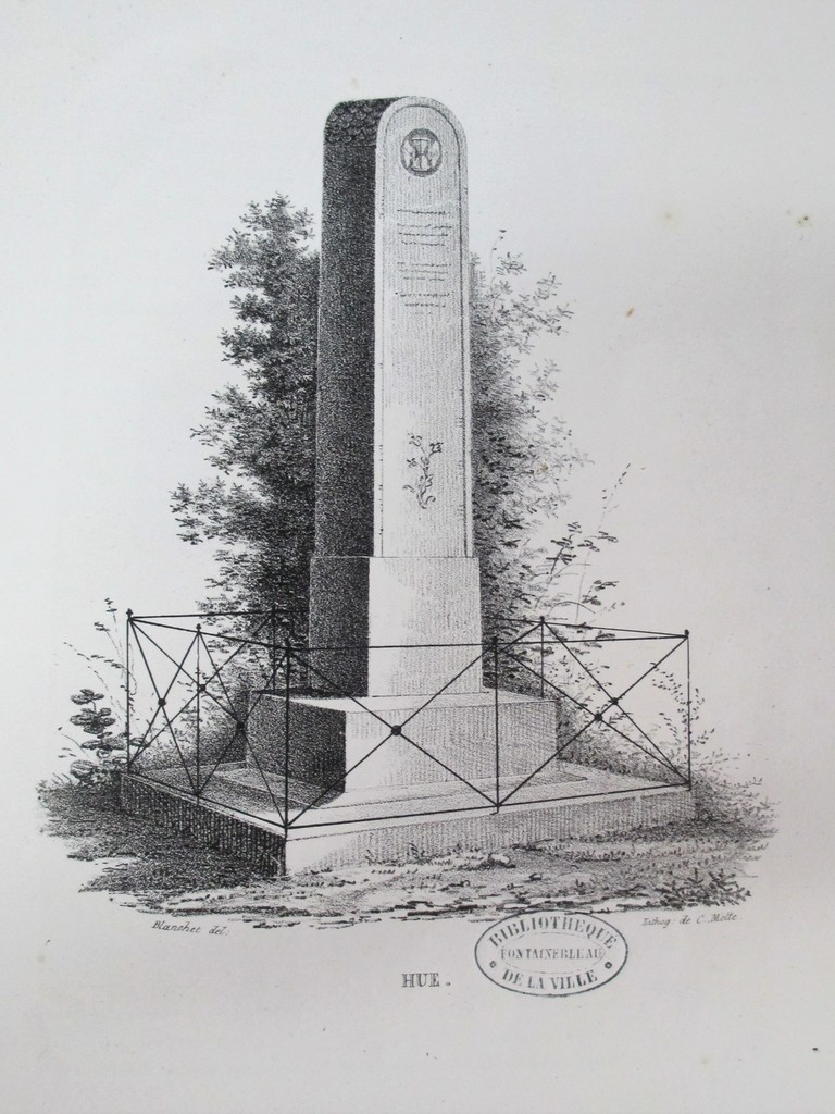 Hue. : [estampe] / Blanchet del. | Blanchet Magon de La Lande, Louis Edouard Marie (1852-1901). Artiste